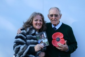DVD launch -Anna Littler & Les Boyle whose Evacuee story is included in the film