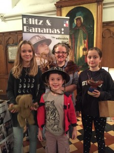 Anna Littler (writer/director) enjoyed meeting guests afterwards and answered questions about making the film.
