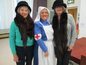 Suffragettes and a WW1 Nurse!